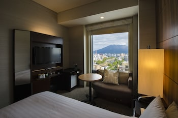 Double Room Sakurajima View Smoking