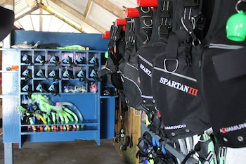 Modessa Island Resort Palawan Equipment Storage