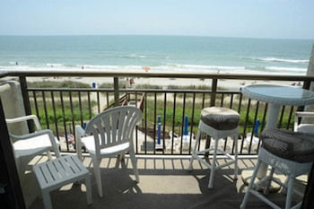Units at Bluewater Resort by Elliott Beach Rentals - Balcony  - #0