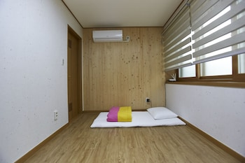 Korean Style Double Room with Shared Shower Booth and Toilet