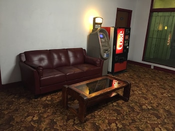 Lobby Sitting Area at Hollywood Roxy Hotel in Los Angeles