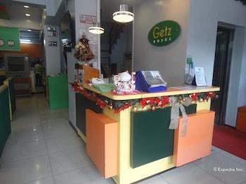 Getz Hotel Manila Reception