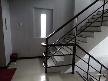 Getz Hotel Manila Staircase