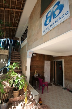 Blue Bamboo Hotel Boracay Property Entrance