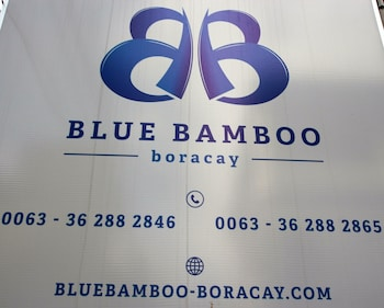 Blue Bamboo Hotel Boracay Interior Entrance