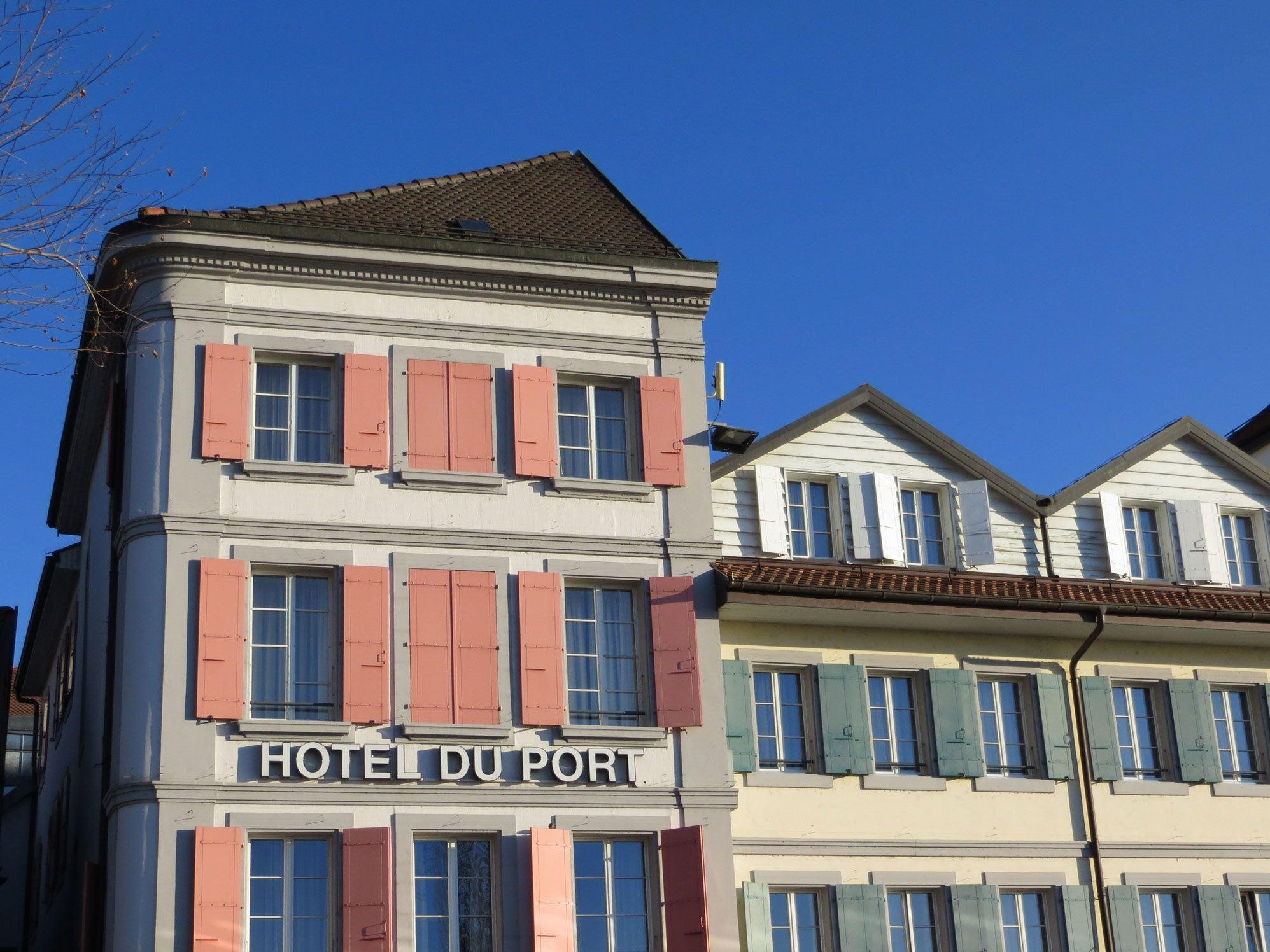 Hotel du Port, Lausanne