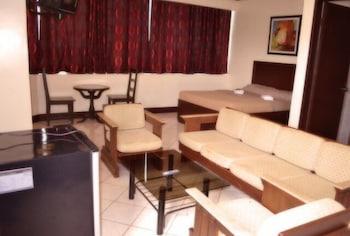 Ace Penzionne Cebu Living Area