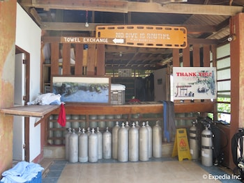 Planet Dive Anilao Equipment Storage