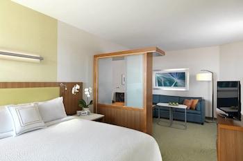 Guestroom at SpringHill Suites Orlando at Flamingo Crossing/West Entrance in Winter Garden
