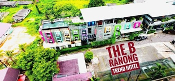 The b Ranong Trend Hotel - Aerial View  - #0