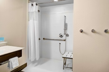 Studio, 1 King Bed, Accessible, Non Smoking (Roll In Shower)