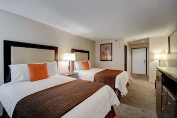 Guestroom at Longhorn Casino & Hotel in Las Vegas