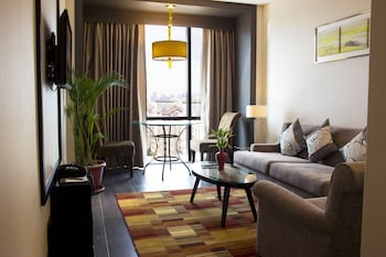 Belmont Hotel Manila Living Room