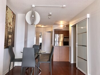 Pinnacle Suites - Pantages Tower offered by Short Term Stays - In-Room Kitchen  - #0