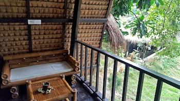 Love And Peace Deep Jungle And River Resort Palawan Balcony