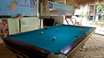 Love And Peace Deep Jungle And River Resort Palawan Billiards