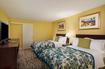 Guestroom at Wyndham Garden Lake Buena Vista Disney Springs® Resort Area in Lake Buena Vista