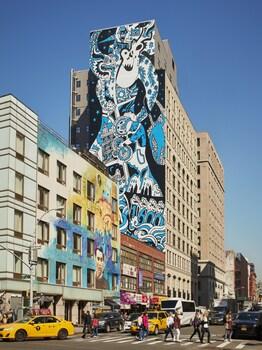 Exterior at 11 Howard in New York