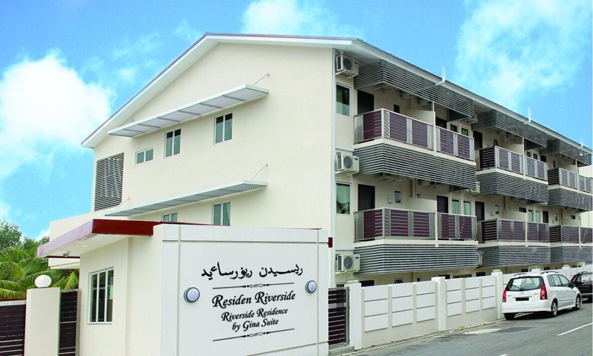 Riverside Residence by Gina Suite, Kianggeh