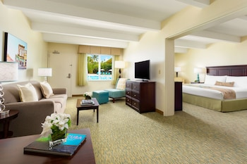 Premier Suite, 1 King Bed with Sofa bed (Two-Room Suite)