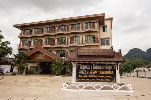 Thavisouk Riverside Hotel, Vangvieng