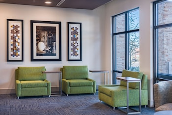 Lobby Sitting Area at Holiday Inn Express & Suites Fort Worth West in Fort Worth