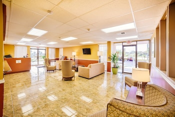 Interior Entrance at Travelodge by Wyndham Kissimmee East in Kissimmee