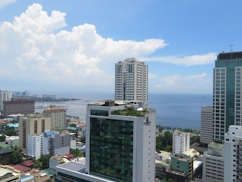 Bayview Designers Suites Manila View from Room