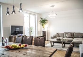 Comfort Penthouse, 3 Bedrooms, Terrace (Getreidemarkt)
