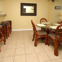 Condo 2 Bedrooms Oceanfront (1 King bed, 1 Queen bed, 2 Single beds, 1 sofa bed) at Crescent Keyes by Elliott Beach Rentals in North Myrtle Beach