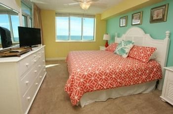 Guestroom at Bluewater Keys by Elliott Beach Rentals in North Myrtle Beach