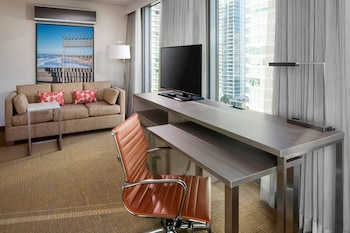 Living Room at Residence Inn by Marriott San Diego Downtown/Bayfront in San Diego