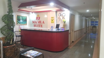 FJ MANILA HOTEL Reception