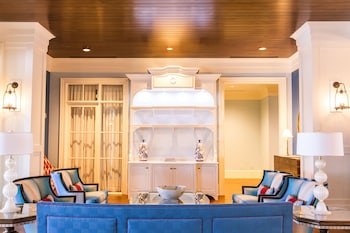 Lobby at The Beach Club at Charleston Harbor Resort and Marina in Mount Pleasant