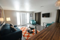 Exclusive Suite, 1 King Bed, Patio, Poolside