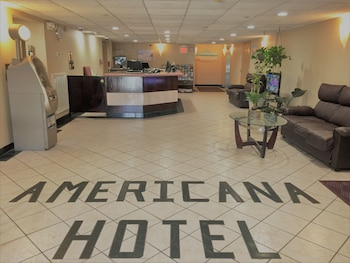 Reception at The Americana Hotel in Ocean City