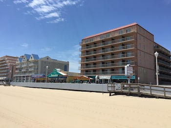 Beach at The Americana Hotel in Ocean City