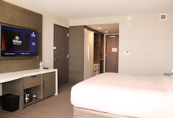 Room, 1 King Bed, City View, Corner (Access Bathtub)
