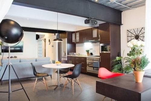 Trendy Suite With Terrace in Polanco, Naucalpan de Juárez