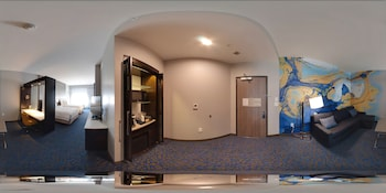 Guestroom at SpringHill Suites by Marriott Fort Worth Fossil Creek in Fort Worth