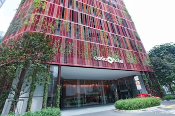 Oasia Hotel Downtown Singapore - Hotel Entrance  - #0