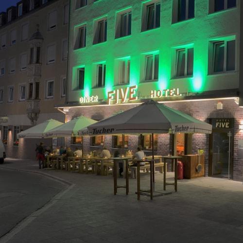Norymberga - Hotel FIVE - z Katowic, 26 marca 2021, 3 noce