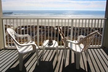 Units at Carolina Dunes by Elliott Beach Rentals - Balcony  - #0