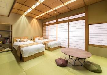 [1名用]禁煙 山側和室ベッドルーム(8畳)|十八楼