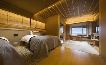 Sanri Western Room with Open Air Bath, Mt. Fuji View - Non Smoking