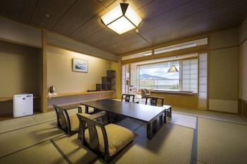 Yuraku Luxury Japanese Style Room with Open Air Bath, Mt. Fuji View, Non Smoking