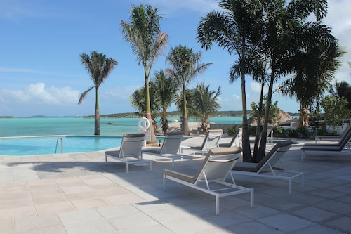 . Ocean Front Villa with Private Boat and Dock at February Point Resort