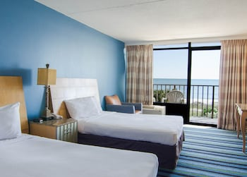 Guestroom at Ocean Inn in Myrtle Beach