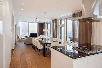 Comfort Penthouse, Balcony