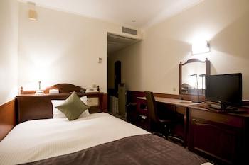 シングルルーム 喫煙可|14㎡|プレミアホテル -CABIN- 旭川